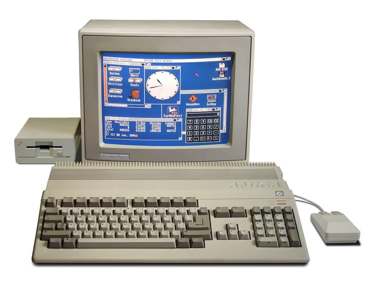 Amiga 500 - der meistverkaufte Amiga Computer von Commodore