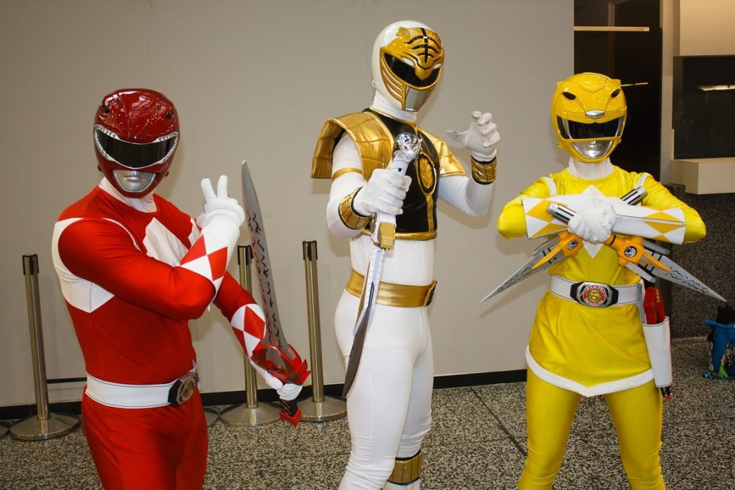 Die Power Rangers sind auch auf der Comiccon ein beliebtes Thema