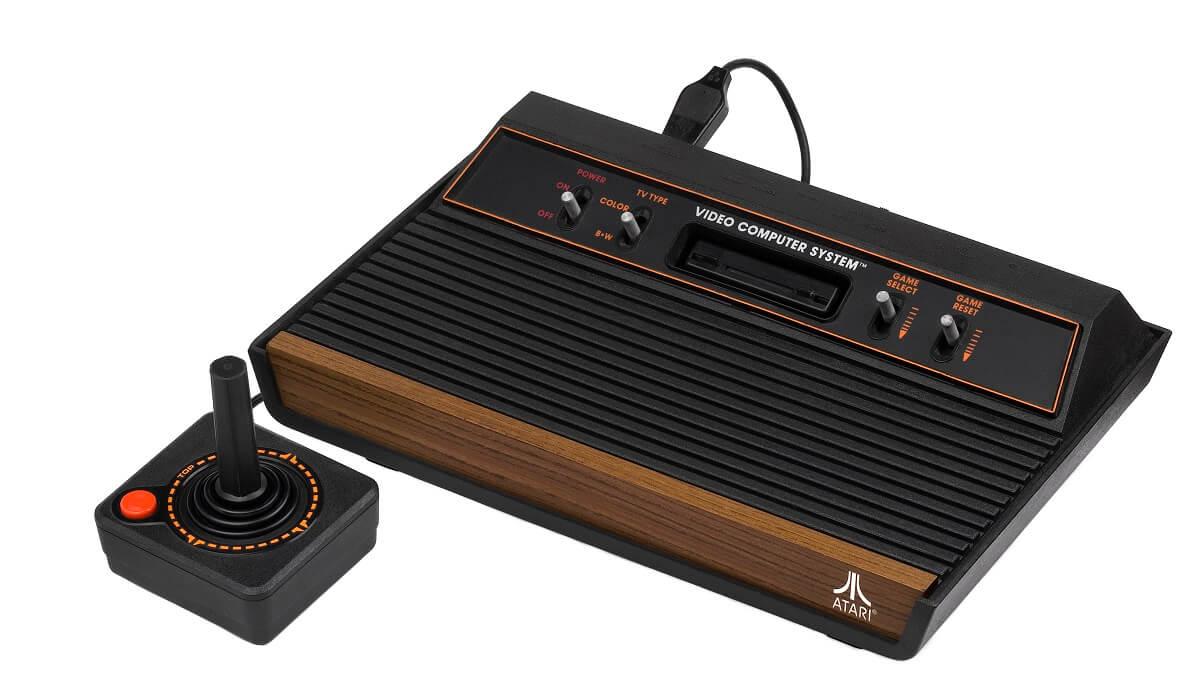 Retro Spielekonsole Atari 2600